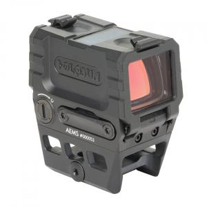 Holosun AEMS Red Multi-Reticle 2 MOA Circle-Dot Micro Reflex Sight w/Solar Failsafe & Shake Awake AEMS-211301