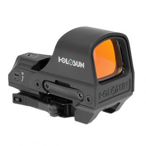 Holosun HE510C-GR Green Multi-Reticle Circle Dot Reflex Sight w/ Solar Failsafe and Shake Awake - HE510C-GR