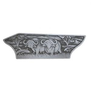 Blaser R8 Luxus Cape Buffalo Right Sideplate C4900006