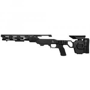 Cadex Defense Lite Strike Black Rem 700 LA LH Standard Folding 20 MOA #6-48 for SSSF 3.715
