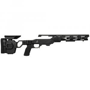 Cadex Defense Lite Strike Black Rem 700 M24 Standard Folding 20 MOA #6-48 Chassis STKLT-M24-RH-LA-R-206-B-BLK