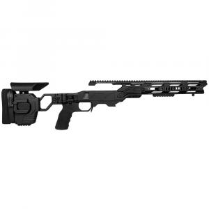 Cadex Defense Lite Strike Black Rem 700 M24 Standard Folding 20 MOA #8-40 Chassis STKLT-M24-RH-LA-R-208-B-BLK