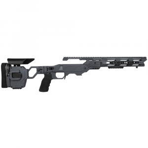 Cadex Defense Lite Strike Sniper Grey Rem 700 M24 Standard Folding 20 MOA #6-48 Chassis STKLT-M24-RH-LA-R-206-B-GRY