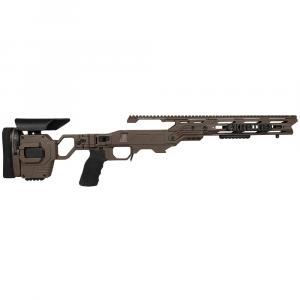 Cadex Defense Lite Strike Stealth Shadow Rem 700 M24 Standard Folding 20 MOA #6-48 Chassis STKLT-M24-RH-LA-R-206-B-SSV