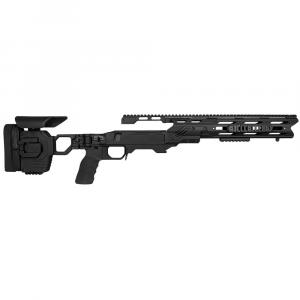Cadex Defense Dual Strike Black Rem 700 M24 Standard Folding 20 MOA #6-48 Chassis STKDL-M24-RH-LA-R-206-B-BLK