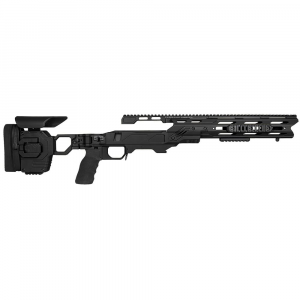 Cadex Defense Dual Strike Black Rem 700 M24 Standard Folding 20 MOA #8-40 Chassis STKDL-M24-RH-LA-R-208-B-BLK