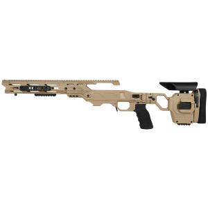 Cadex Defense Lite Strike Tan Rem 700 LA LH Standard Folding 20 MOA #8-40 for SSSF 3.850