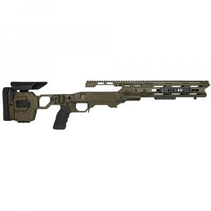 Cadex Defense Dual Strike OD Green Rem 700 M24 Standard Folding 20 MOA #8-40 Chassis STKDL-M24-RH-LA-R-208-B-ODG