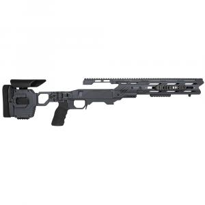 Cadex Defense Dual Strike Sniper Grey Rem 700 M24 Standard Folding 20 MOA #8-40 Chassis STKDL-M24-RH-LA-R-208-B-GRY