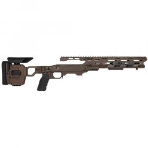 Cadex Defense Dual Strike Stealth ShadowRem 700 M24 Standard Folding 20 MOA #6-48 Chassis STKDL-M24-RH-LA-R-206-B-SSV