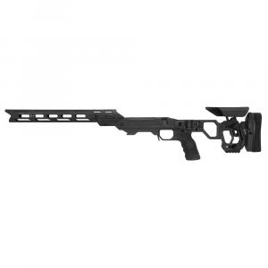 Cadex Defense Lite Competition M-LOK Black Rem 700 LA LH Skeleton Folding for SSSF 3.715
