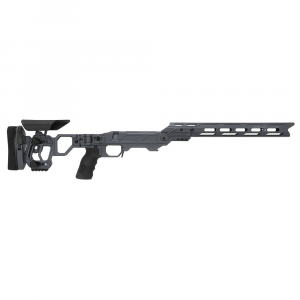 Cadex Defense Lite Competition M-LOK Sniper Grey Tikka-T3 SA for Tikka CTR Mag Skeleton Folding Chassis STKLCP-CTR-RH-SA-B-NA-A-GRY