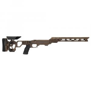 Cadex Defense Lite Competition M-LOK Stealth Shadow Rem 700 LA Skeleton Folding for SSSF 3.715