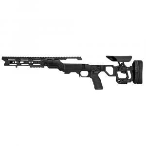 Cadex Defense Field Tactical Black Rem 700 LA LH Skeleton Fixed 20 MOA #6-48 for SSSF 3.715