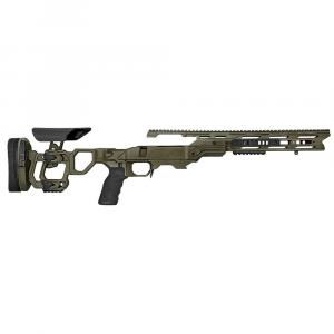 Cadex Defense Field Tactical OD Green Rem 700 M24 Skeleton Fixed 20 MOA #6-48 Chassis STKFT-M24-RH-LA-B-206-B-ODG