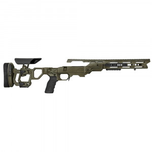 Cadex Defense Field Tactical OD Green Rem 700 SA Skeleton Fixed 20 MOA for DSSF 3.055