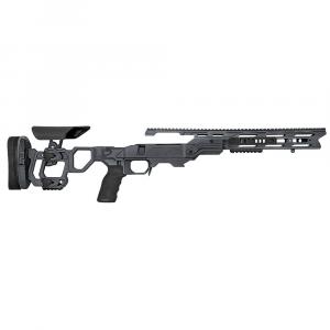 Cadex Defense Field Tactical Sniper Grey Rem 700 M24 Skeleton Fixed 20 MOA #6-48 Chassis STKFT-M24-RH-LA-B-206-B-GRY