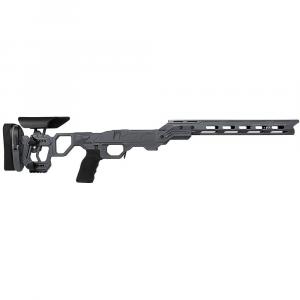 Cadex Defense Field Competition M-LOK Sniper Grey Tikka-T3 SA for Tikka CTR Mag Skeleton Fixed Chassis STKFCP-CTR-RH-SA-B-NA-A-GRY