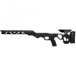 Cadex Defense Field Competition M-LOK Black Rem 700 LA LH Skeleton Fixed for SSSF 3.715