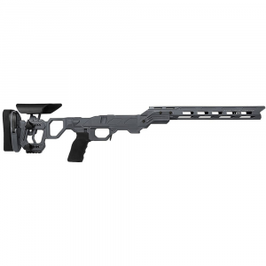 Cadex Defense Field Competition M-LOK Sniper Grey Rem 700 M24 Skeleton Fixed Chassis STKFCP-M24-RH-LA-B-NA-B-GRY