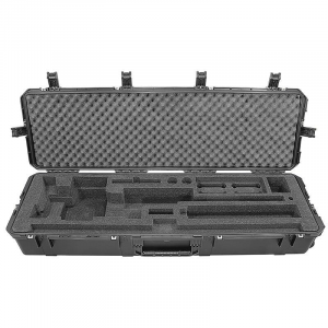 Cadex Military Grade Hard Case with Cut-Out Foam for CDX-50, Black 175-00066-BLK-F50