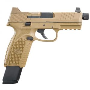 FN 509 Tactical 9mm NMS FDE/FDE NS (1) 17rd Mag (1) 24rd Mag - Optics Ready 66-100373