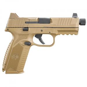 FN 509 Tactical 9mm NMS FDE/FDE NS (2) 10rd Mag - Optics Ready 66-100383