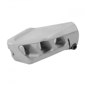 Cadex MX1 Muzzle Brake Bead Blasted for 408CT 7/8-24 thrd) 3850-045