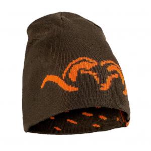 Blaser Reversible Knitted Cap Argali - Brown BAOARKCA
