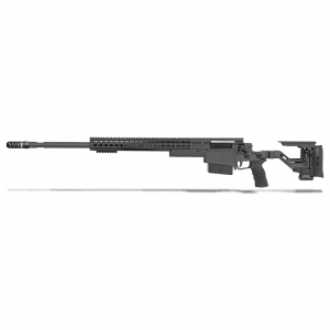 Accuracy International AXSR Folding Left Hand Rifle .300 Norma Mag Black 27