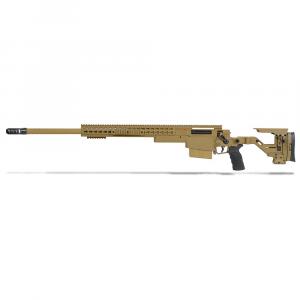 Accuracy International AXSR Folding Left Hand Rifle .300 Norma Mag Dark Earth 27