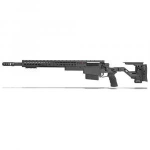Accuracy International AXSR Folding Left Hand Rifle .338 Lapua Mag Black 20