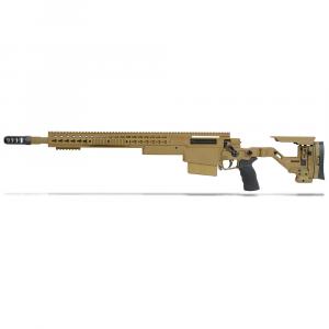 Accuracy International AXSR Folding Left Hand Rifle .338 Lapua Mag Dark Earth 20