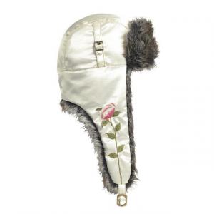 Turtle Fur Evalina Bomber Hat