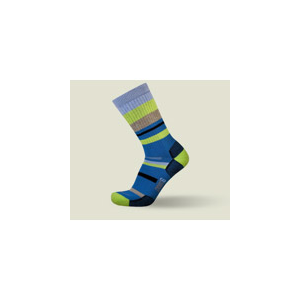 Point6 Mixed Stripe Medium Crew Socks - Unisex 110540