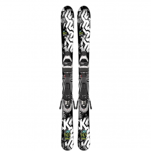 K2 Indy Skis with FasTrak2 4.5 Bindings - Youth
