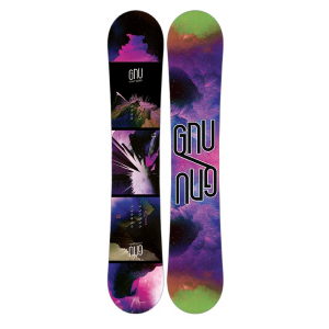 Gnu Velvet Gnuru Asym Snowboard - Women's