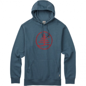 Burton Woodblock Family Tree Recycled Pullover Hoodie Men's