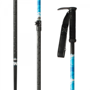 Line Pollard Carbon Adjustable Ski Poles