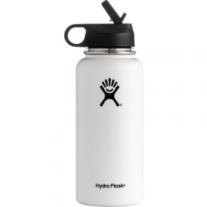 Hydro Flask Wide Mouth Bottle with Straw Lid - 32 oz.