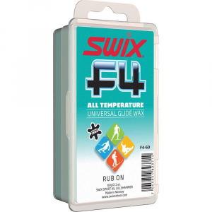 Swix F4 Universal Rub On Glide Wax with Cork - 60g 137867