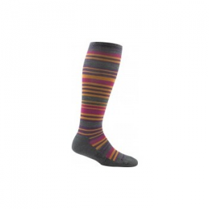 Darn Tough Striped Knee-High Light Cushion Socks - Women's 129389