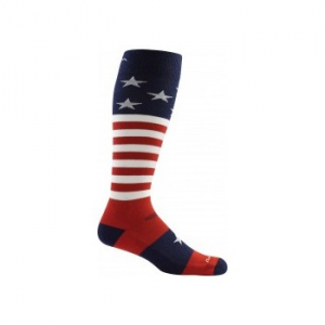Darn Tough Captain America Over The Calf Light Cushion Socks Men's