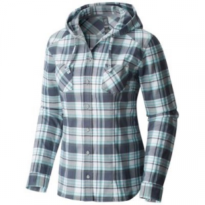 Mountain Hardwear Stretchstone Flannel Hooded Long Sleeve Shirt - Women's 129749