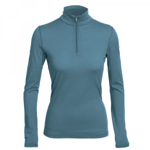 Icebreaker Bodyfit200 Lightweight Oasis Long-Sleeve Half-Zip Top - Women's