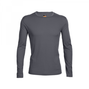 Icebreaker Bodyfit200 Lightweight Oasis Long Sleeve Crewe Top Men's