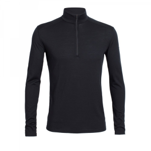 Icebreaker Bodyfit200 Lightweight Oasis Long-Sleeve Half-Zip Top - Men's