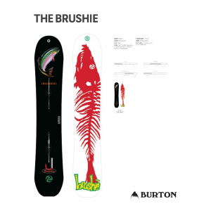 Burton The Brushie Snowboard