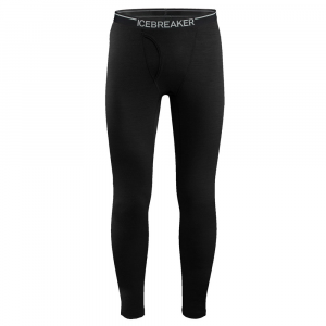 Icebreaker Bodyfit200 Lightweight Oasis Leggings with Fly Mens