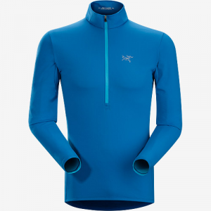 Arc'teryx Morphic Zip Neck LS Top Men's